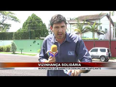 26/12/2018 - Vizinhança Solidária ajuda Polícia Militar a deter traficante no Bairro Santa Cecília em Barretos