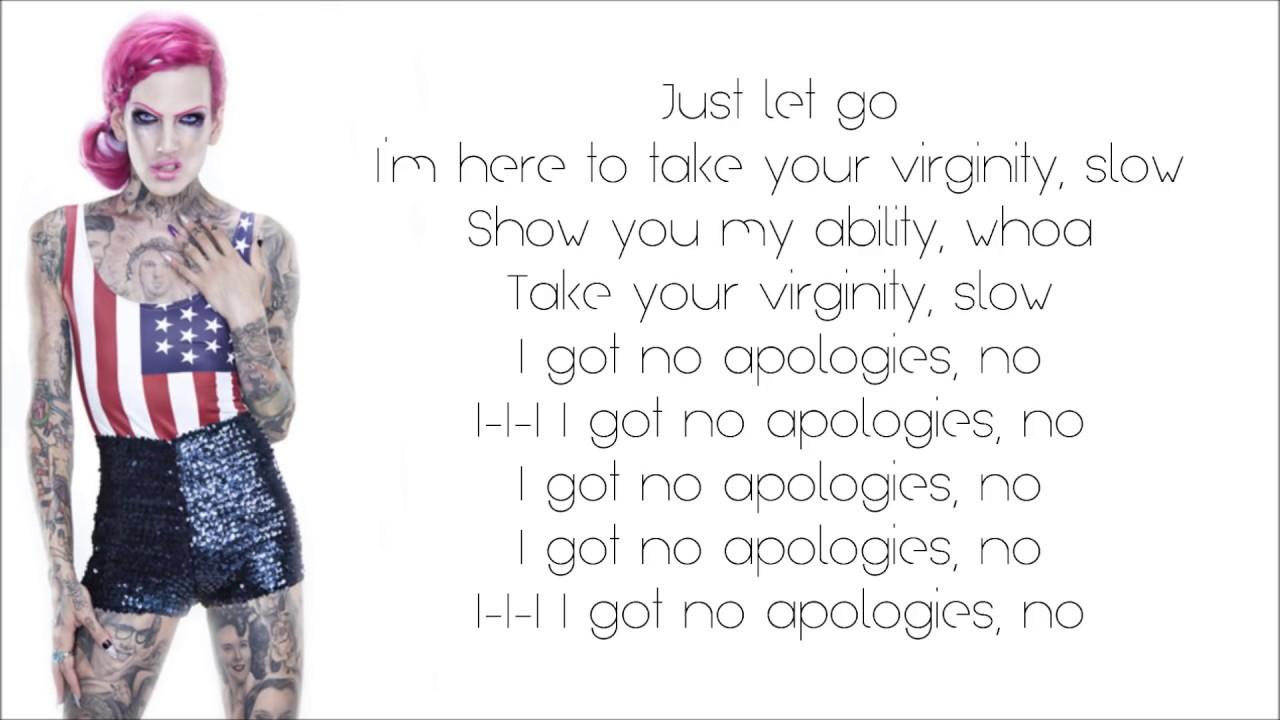 Biggest lyrics to virginity
