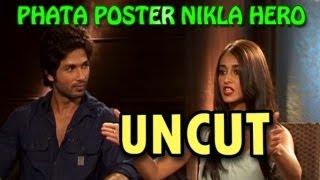Phata Poster Nikla Hero   Shahid Kapoor & Ileana D'Cruz talk about their new movie   UNCUT view on youtube.com tube online.