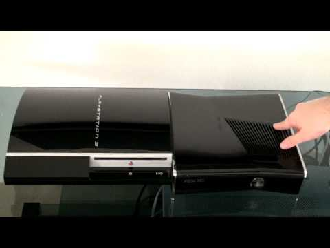 Xbox 360 Slim Vs. PS3 Fat