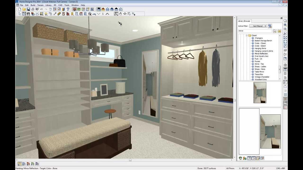 Home Designer Software Custom Closet Webinar Youtube