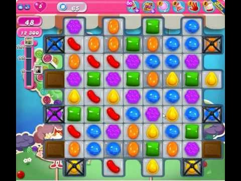 Candy Crush Saga Level 65 ★★ - YouTube