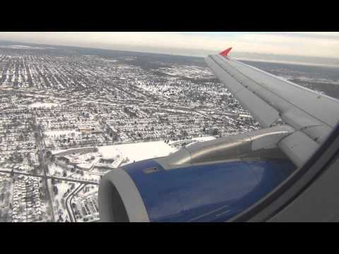 *Onboard* Spirit Airlines A320 Landing Chicago O'hare International HD
