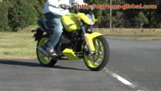 YELLOW MONSTER FZ16,Byson