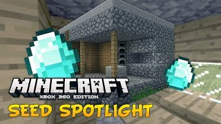 Minecraft Xbox: Seed Spotlight DIAMOND VILLAGE! (TU16