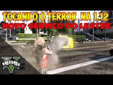 GTA V - ONLINE - TOQUE O TERROR SEM POLICIA COM O NOVO SERVIÇO DO LESTER prproj