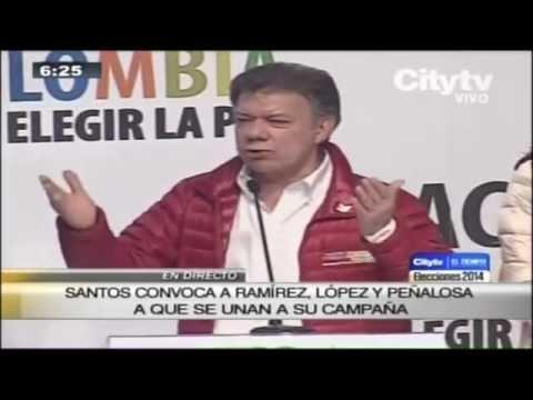 Especiales Citytv: Elecciones 2014: Declaraciones del presidente-candidato Juan Manuel Santos