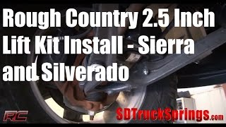 Rough Country 2.5 Inch Lift Install For Silverado And