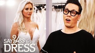 Gok Wan Helps out a Picky Bride Who Has Tried on 40 Dresses! | Say Yes To The Dress UK