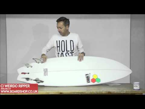 CI Surfboards Weirdo Ripper Review
