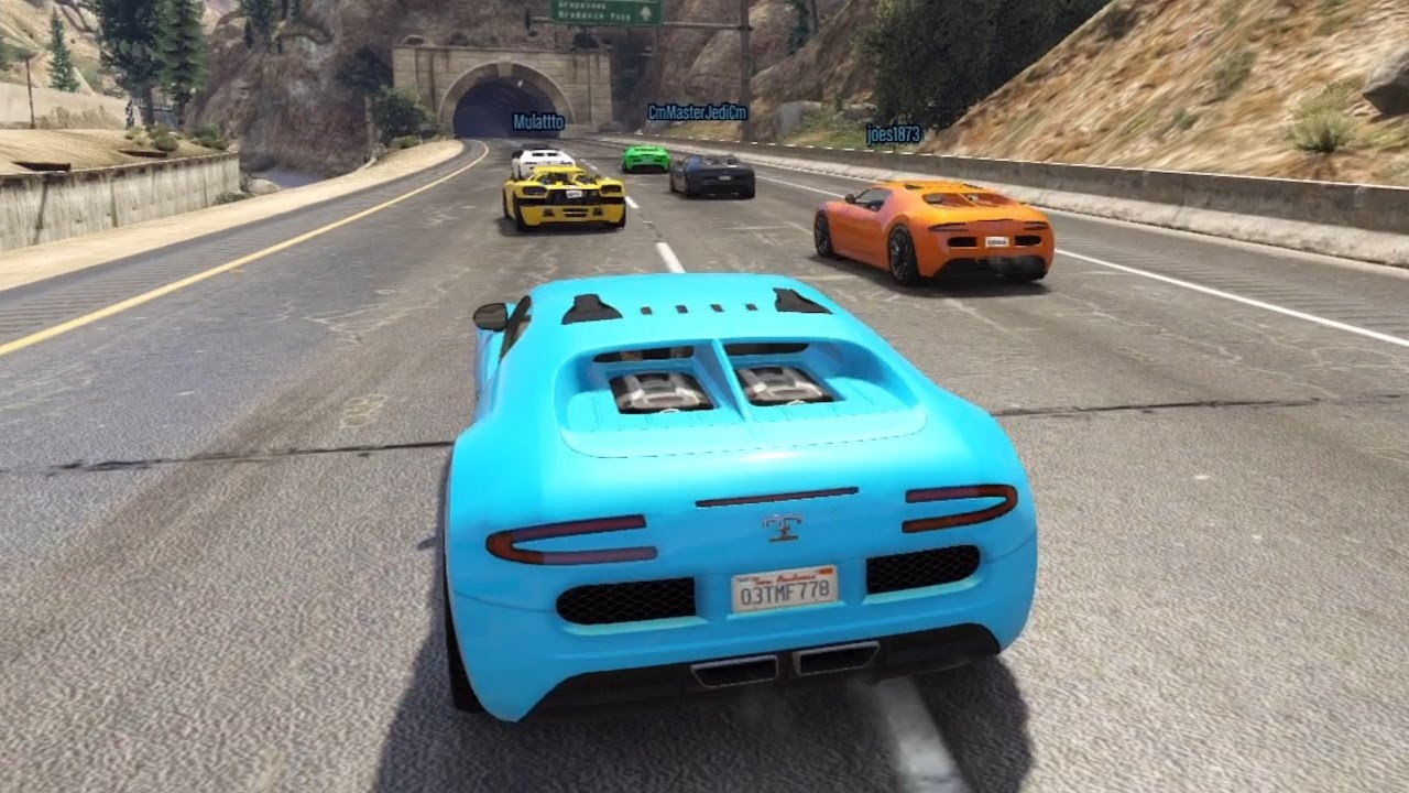 gta 5 online online race with the bugatti veyron 1st. Black Bedroom Furniture Sets. Home Design Ideas