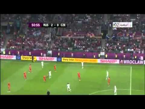 Россия - Чехия 4-1.Евро 2012
