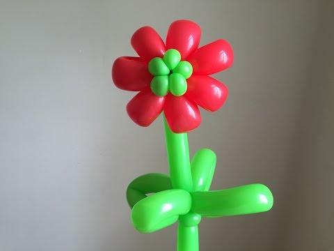 Bong bóng bay nghệ thuật | Hướng dẫn vặn bong bóng nghệ thuật hình bông hoa | PA channel