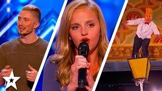 America's Got Talent 2017 Week 4 Auditions | Evie Clair, Just Jerk - Dance Group & More!!
