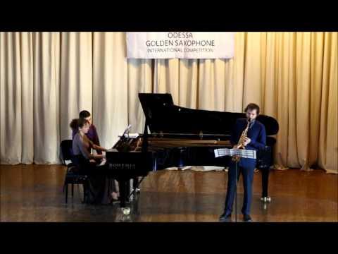 Golden Saxophone2015 -Bart Van Beneden – Rondes des Lutins by Antonio Bazzini