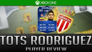 FIFA 14 TOTS JAMES RODRIGUEZ 90 PLAYER REVIEW W/ IN GAME