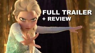 Disney Frozen Official Trailer + Trailer Review : Anna
