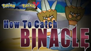 "Pokémon X And Y How To Catch ""Binacle""!"