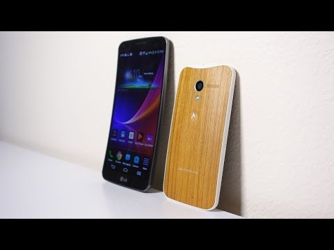Curved and Wood Phones? Moto X & LG G Flex