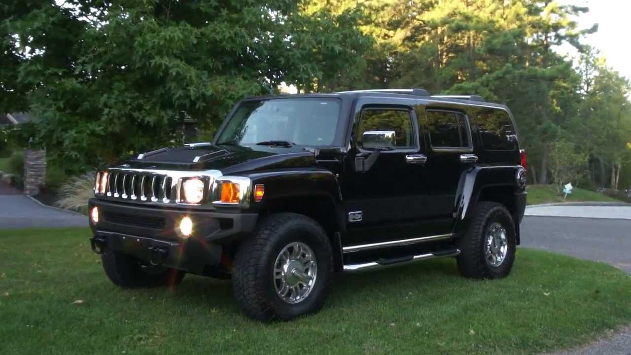 2007 hummer h3 luxury for sale moon navigation heated seats only 1 042 miles youtube. Black Bedroom Furniture Sets. Home Design Ideas