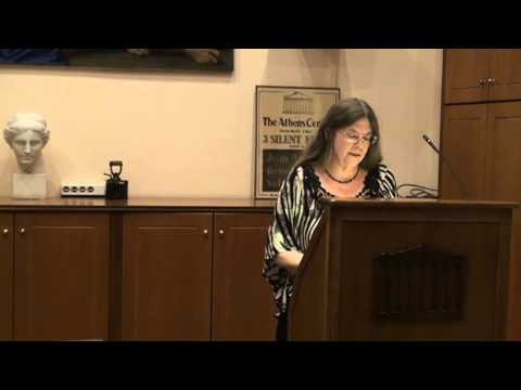 Poetry Evening at the Athens Centre - Susan McLean (Part 3)