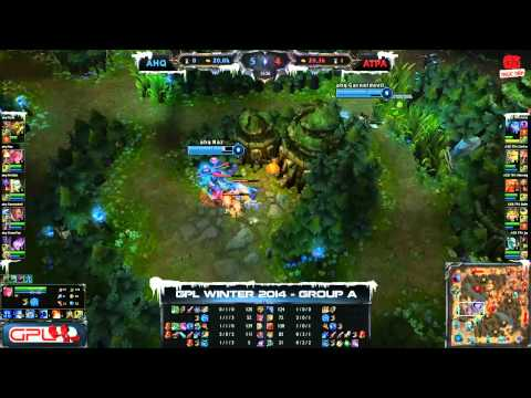 [GPL 2014 Mùa Đông] [Tie - Breakers] AHQ e-Sports Club vs Azubu Taipei Assassins [30.11.2013]