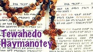 "Mezmur ""Tewahedo Haymanote"" by Kidist Sileshi with Lyrics"