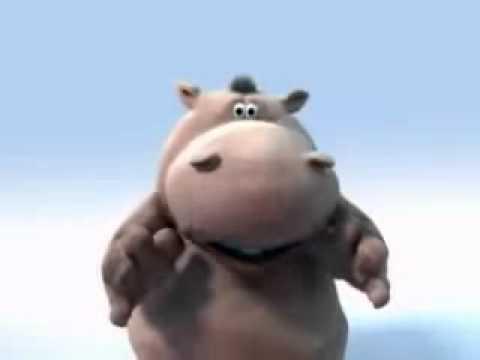 Hipopótamo en caricatura - Imagui