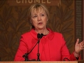 Clinton Criticizes Trump Proposed Diplomacy Cuts