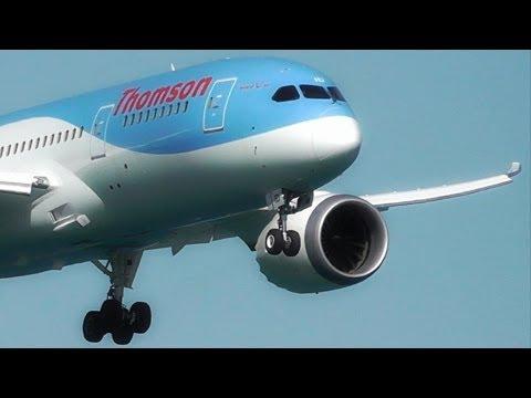 Thomson 787 Dreamliner Landing at LCLK - Larnaca Plane Spotting