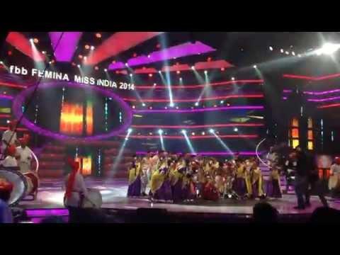 Shahid Kapoor's performance at Femina Miss India 2014