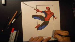 How To Draw Spiderman (Marvel)