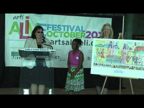 Third Grader Wins the Arts Alive LI Poster Contest