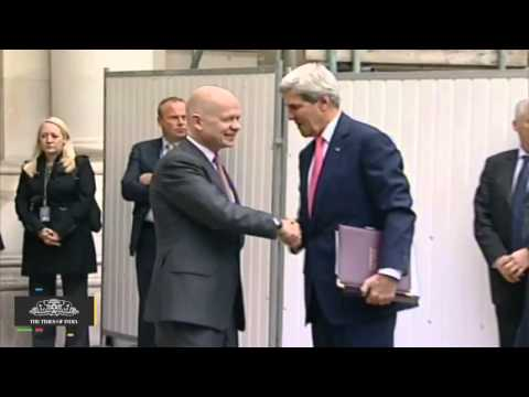 Kerry Confers Premature Knighthood On Departing Friend Hague - TOI
