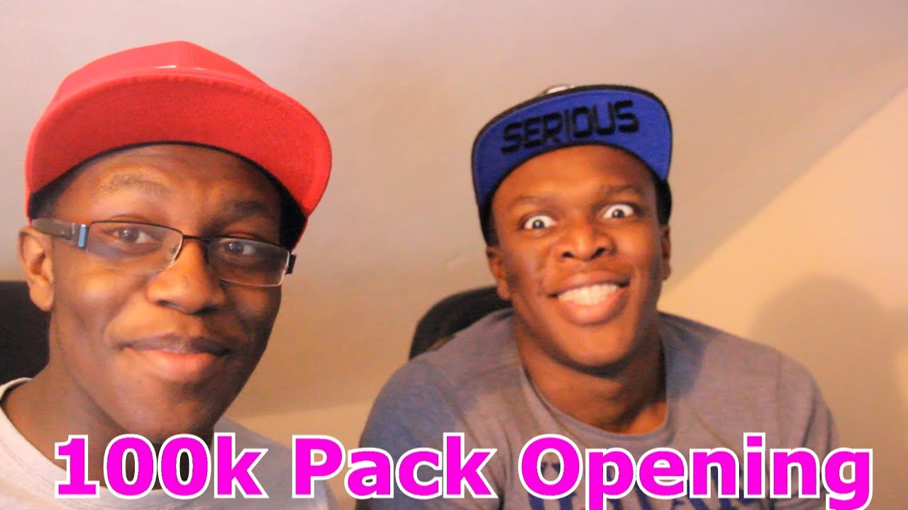 100k pack opening with ksi fifa 14 youtube