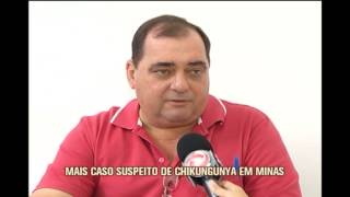 Minas tem mais um caso suspeito de febre chikungunya