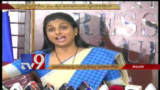 Roja's sensational comments on AP CM Chandrababu over JC's..