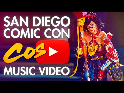 Comic Con (San Diego) - SDCC - Cosplay Music Video - 2013,