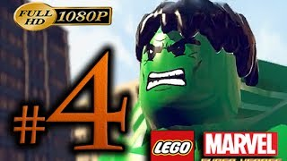 LEGO Marvel SuperHeroes Walkthrough Part 4 [1080p HD] No