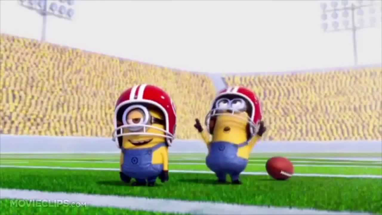 Minions Playing Rugby American Football Penalty Youtube
