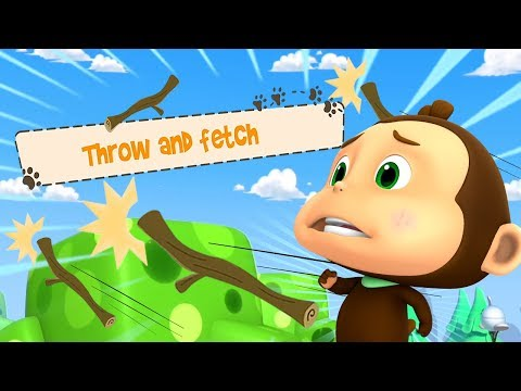 Throw And Fetch | Loco Nuts Cartoons | फेंको और ले आओ | Funny Videos For Children | Kids Videos