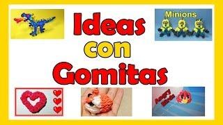 Gomitas: 70 Ideas Y Cosas Que Hacer Con Gomitas De
