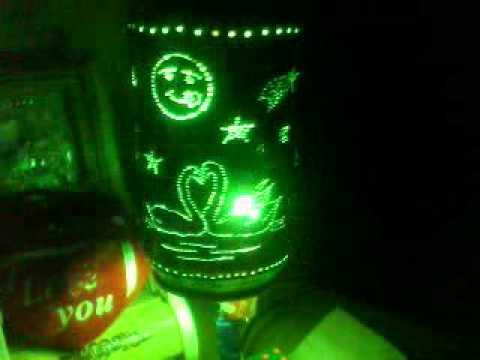 đèn ngủ bằng lon bia 02
