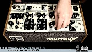 "The MURMUX ""Semi-Modular"" Synthesizer By DREADBOξ / BLACK"