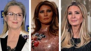 Meryl Streep attacks Melania and Ivanka Trump