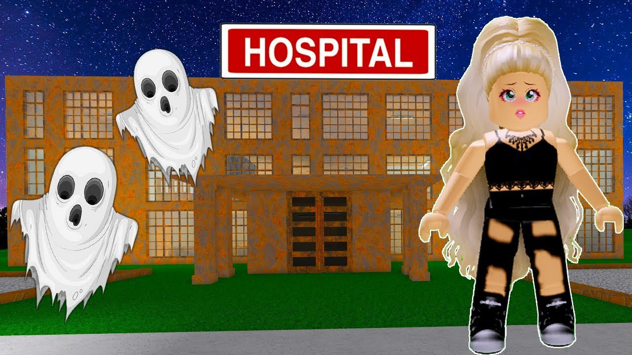 I Visited A Haunted Abandoned Hospital In Bloxburg Roblox
