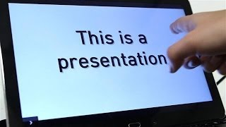 #AskWSJD: Using a Tablet for Presentations