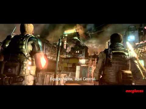 Resident evil 6 Infierno Campaña Chris Capitulo 1 Rango S