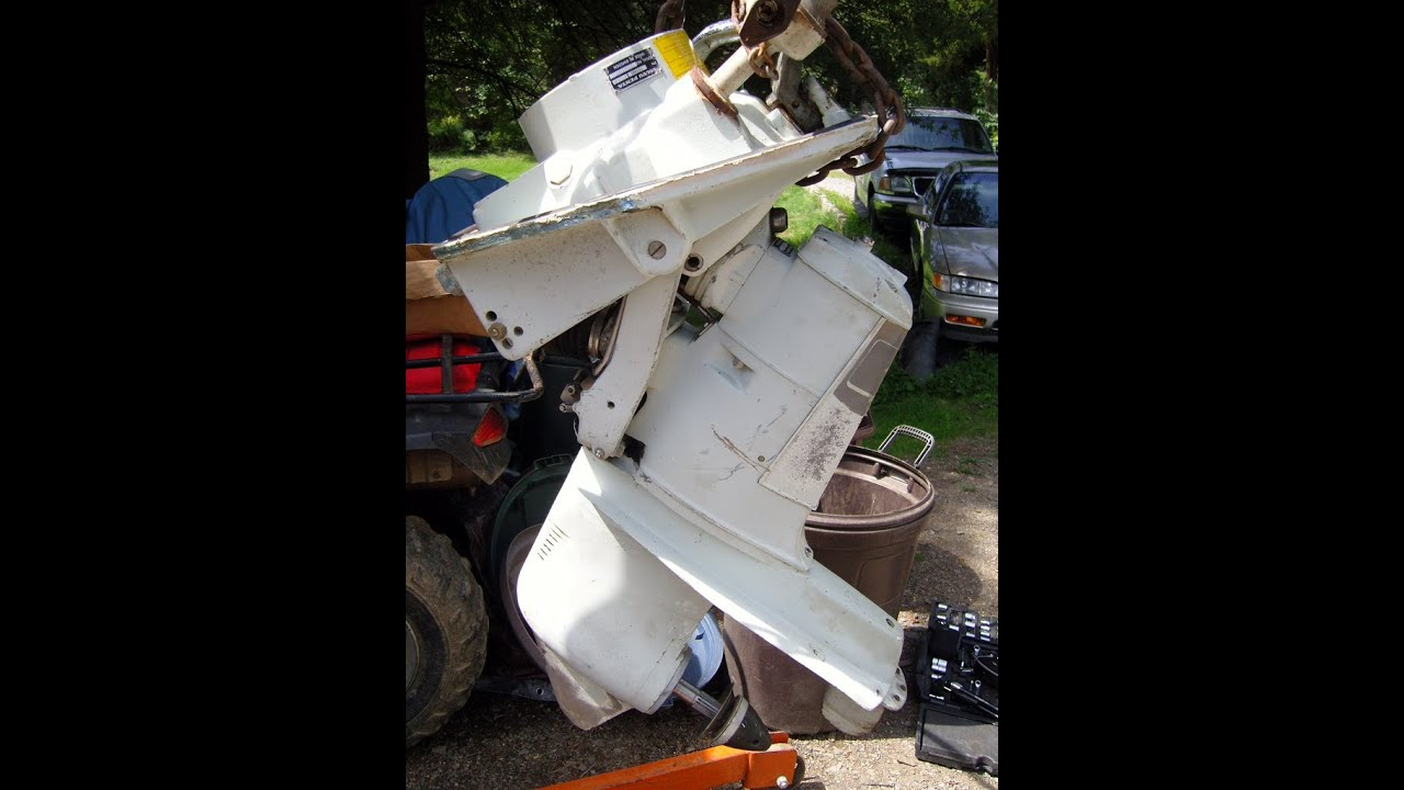 Volvo Penta 275 outdrive for sale - YouTube