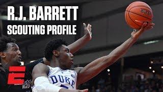 R.J. Barrett preseason 2019 NBA draft scouting video   DraftExpress